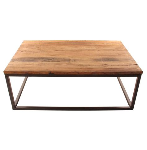 Large Wood Coffee Table Solid Chunky Reclaimed Elm Wood Large Coffee Table Kathy Kuo Home