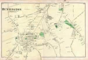 Map Of Huntington New York by John B Weeks 1807 1887 Wikitree Free Family Tree