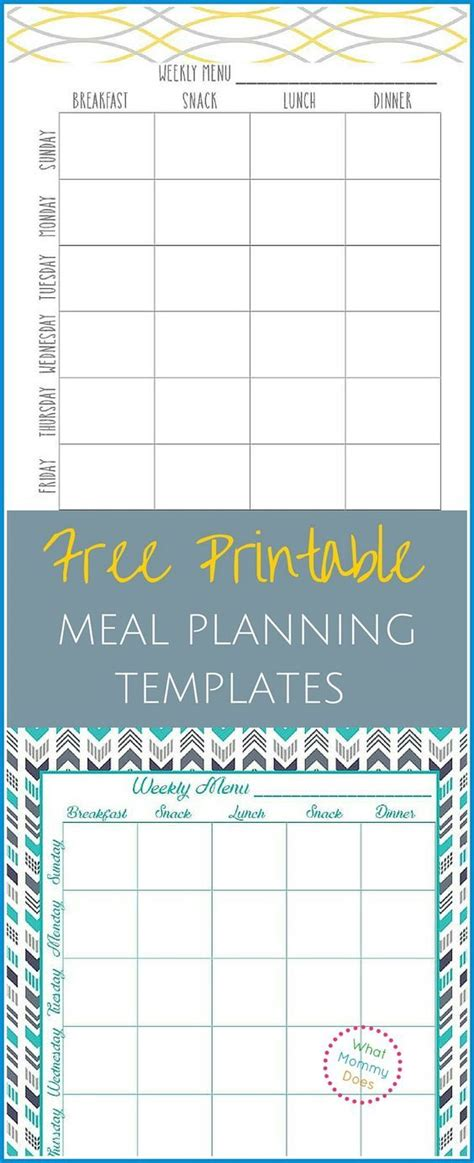 two week meal plan template new two week meal plan template free template design