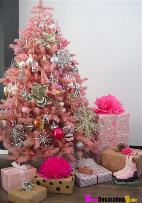 decorating a pink christmas tree how to decorate a fabulous tree betterdecoratingbiblebetterdecoratingbible