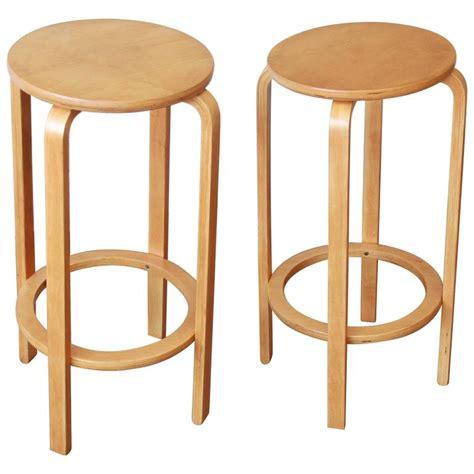 bentwood bar stools alvar aalto for artek model 64 bentwood bar stools for