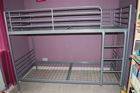 11 Best Images About Beds I Want On Pinterest Twin Used Ikea Silver Bunk Bed