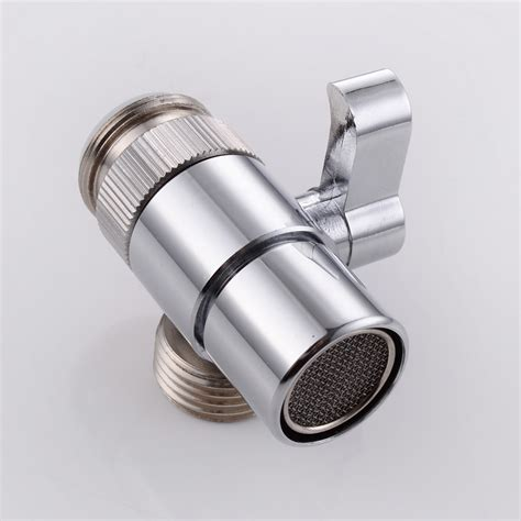 kes brass sink valve diverter faucet splitter for kitchen or bathroom sink faucet replacement