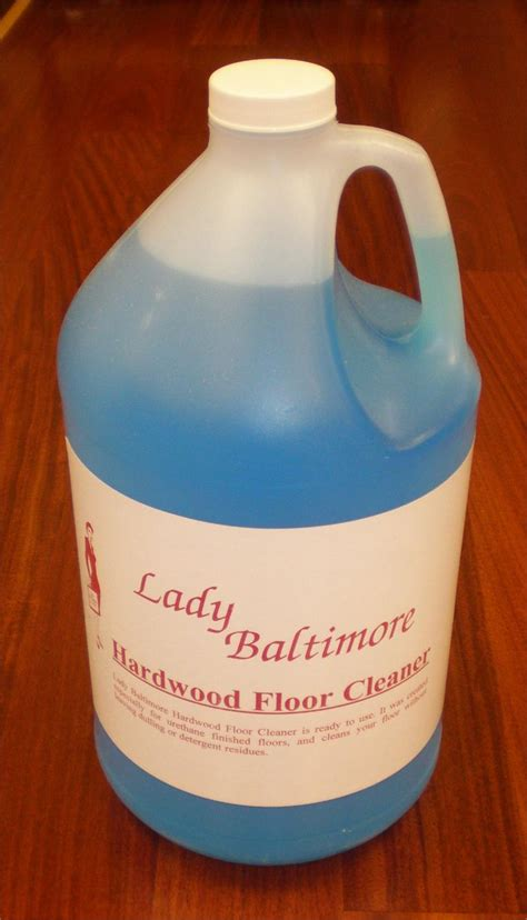 hardwood floor cleaner gallon