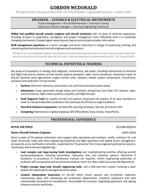 Resume Skills Engineering The Australian Employment Guide