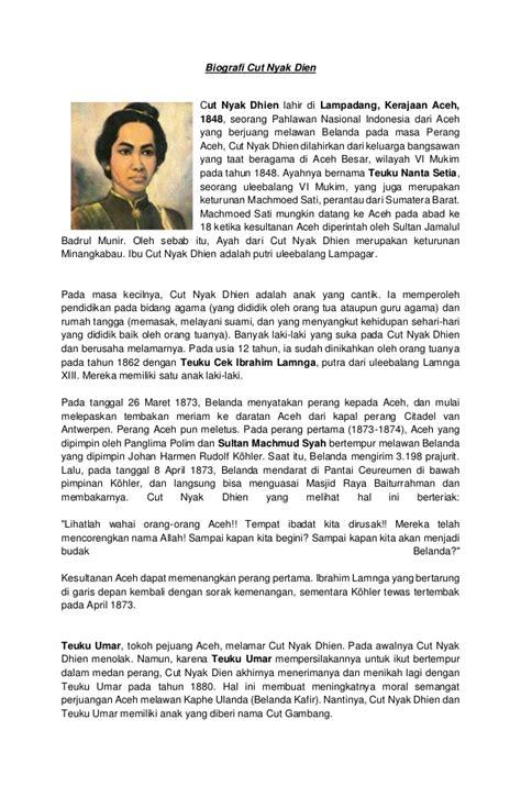 biodata pahlawan imam bonjol bahasa inggris contoh biografi yang sederhana zentoh