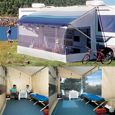 travel trailer awning screen room need to look into this carefree add a room 18