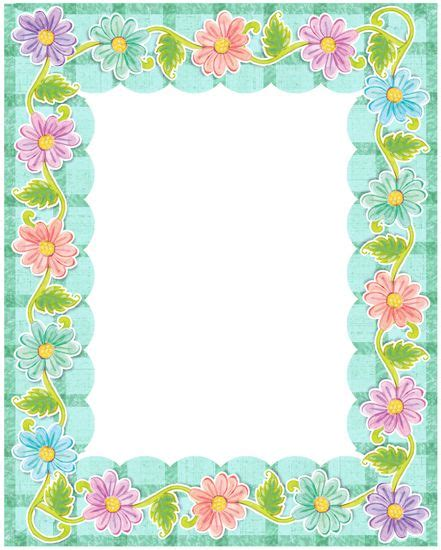 7 Pretty Picture Frames by 328 Best Clip Frames Printables Images On