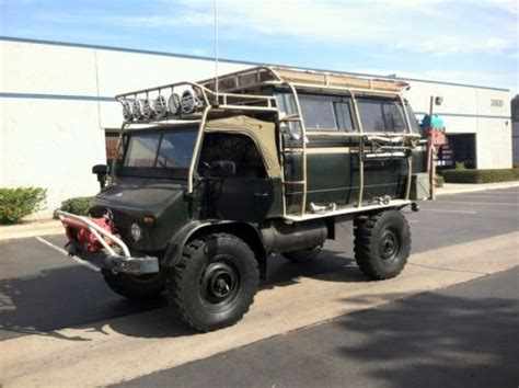 Topi Jeep Desain Army For Outdoor 1965 unimog 404 cer 4x4 survivalist
