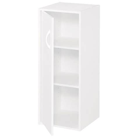 Rona Closet Organizer by 1 Door 3 Shelf Organizer 12 Quot X 31 Quot White Rona