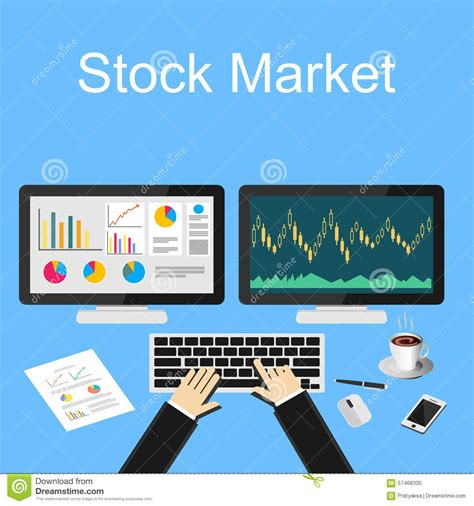 Mba Degree Work For Stocj Broakers by Businessman Working Finance Trading Stock Concept Stock