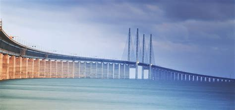 sketchbook journey travel trip journey oresund bridge a mega structure