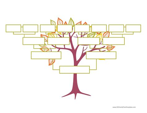 fill in the blank family tree template blank family tree template free instant