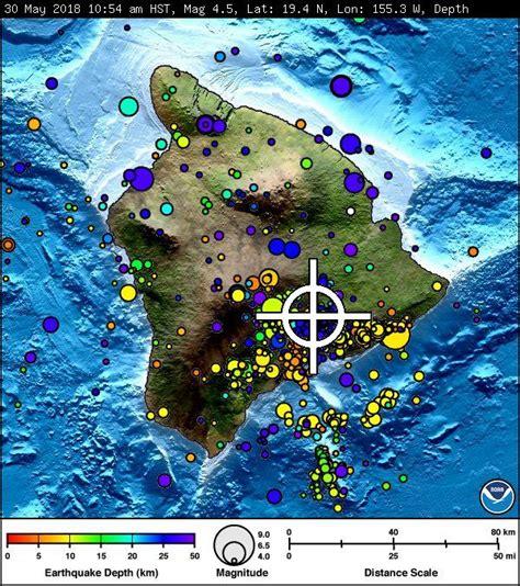 tsunami threat    kilauea summit quake big island