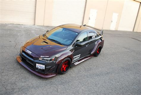 widebody evo carbon kevlar wide body evo x by driven by style llc