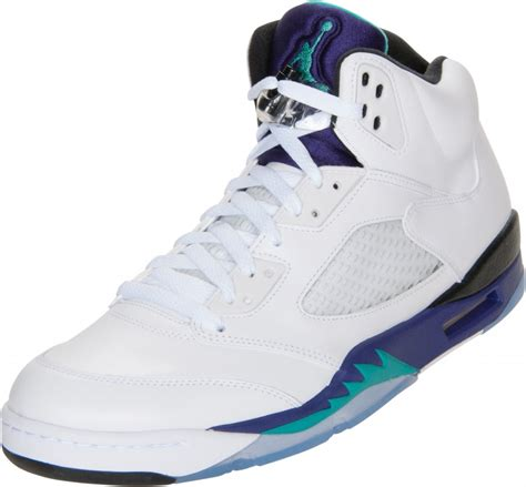 finishline shoes from the stock room air retro 5 grapes