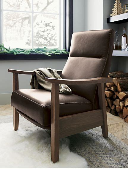 crate and barrel reclining sofa best 25 leather recliner chair ideas on