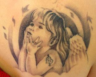 tatu ali tattoo tatuaggi con angeli fotogallery donnaclick