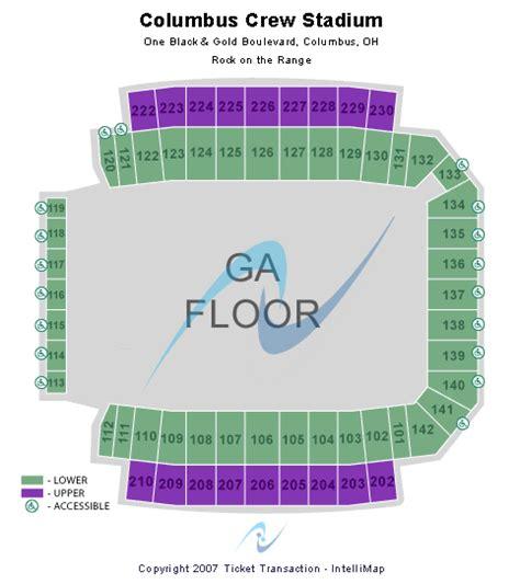 columbus crew stadium seating chart