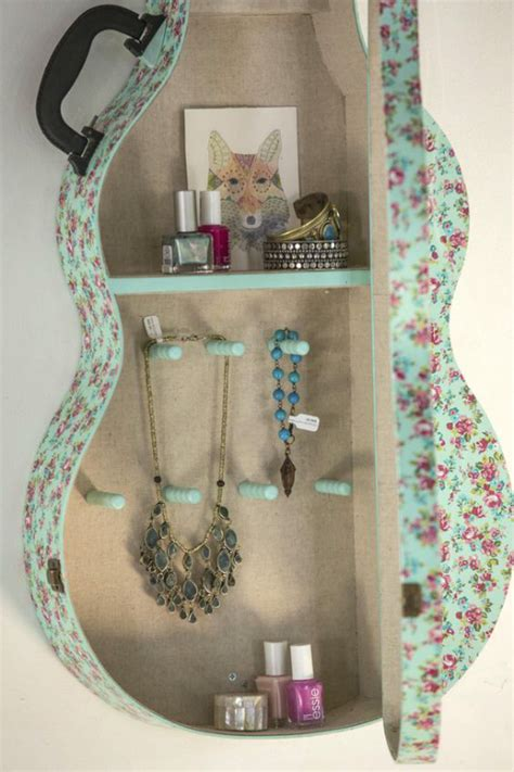 Junk Gypsy Home Decor repurpose old guitars can still rock the refab diaries