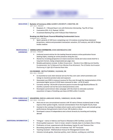 critique my resume what i can improve on