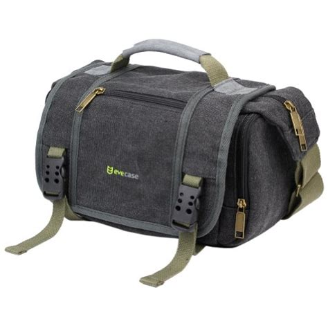nikon d5200 bag evecase vintage messenger digital slr bag for