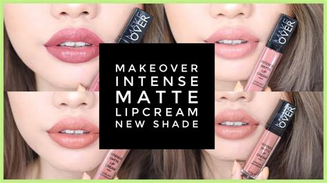 Lip Make Makeover Matte Lipcream Lip makeover matte lipcream 4 new shades