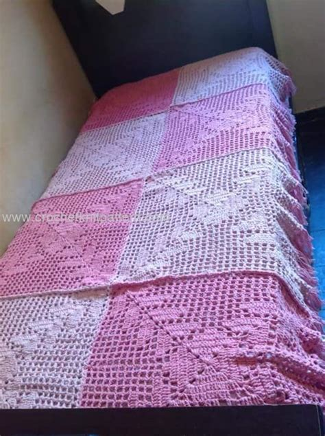 crochet coverlet pattern new crochet bedspread patterns beautiful crochet
