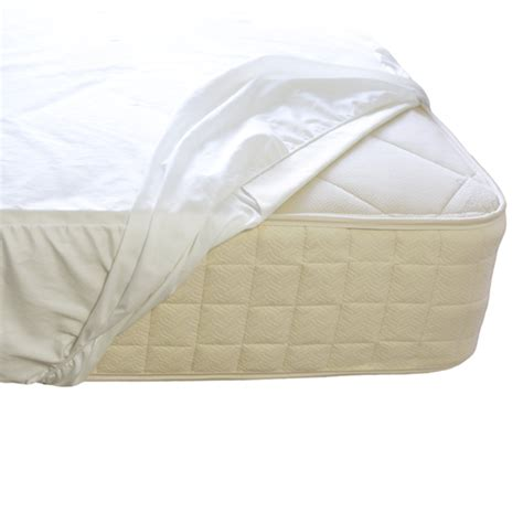 Plastic Crib Mattress Cover Organic Cotton Waterproof Mattress Pad