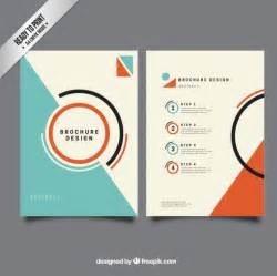 templates for designers minimalis brochure template vector free