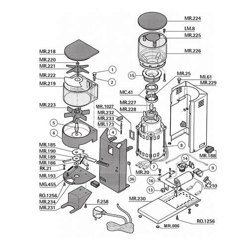 Rancilio Rocky Doser Model   Rancilio Grinder Parts   Grinder Parts   Parts   Espresso Parts