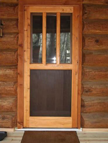 screen storm doors turtle river millwork