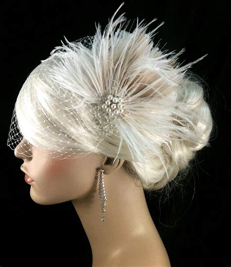 Wedding Hair Accessories Fascinators by Wedding Hair Fascinator Wedding Headpiece Wedding Hair