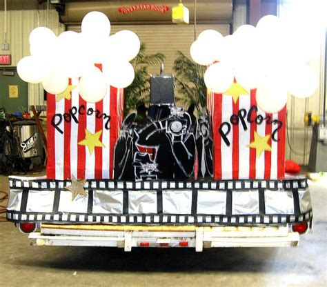 themes for a carnival float hollywood themed float creativity pinterest hollywood