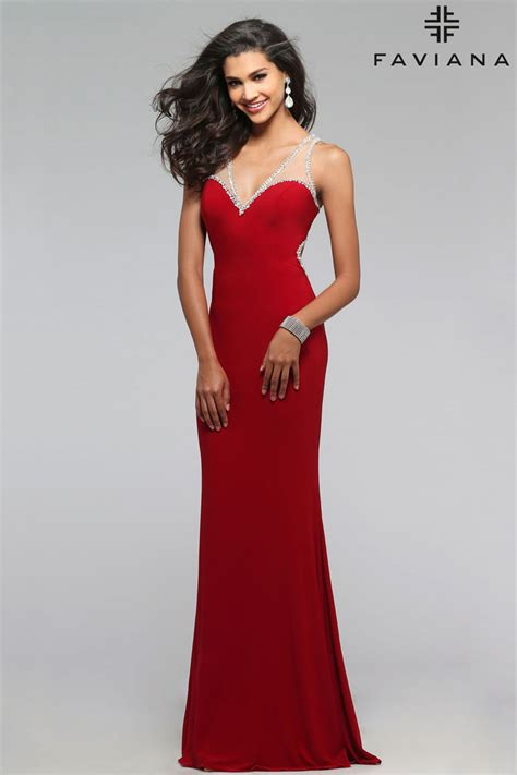 dresses by faviana 7764 prom dress prom gown 7764