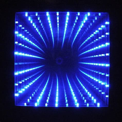 how to make infinity lights 10 quot x 10 quot led infinity mirror infinity mirror led and