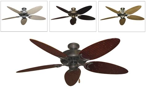 tropical ceiling fan blades dixie outdoor tropical ceiling fan w 52 quot bamboo or