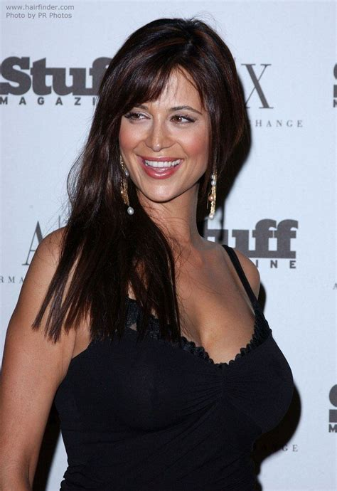 hair lengths celebrity bra catherine bell breast length hair in a simple haircut
