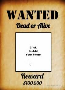 Wanted Poster Template by Doc 450633 Wanted Poster Template 29 Free Wanted