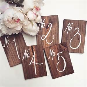 table numbers for wedding wedding table numbers rustic wooden wedding by thepaperwalrus