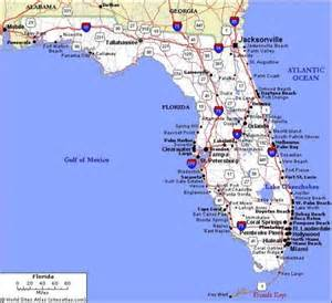 florida city map map travel holidaymapq