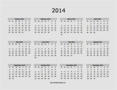 free 2014 calendars to print new calendar template site
