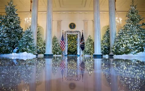 new home christmas decoration at the white house the halls are decked for christmas