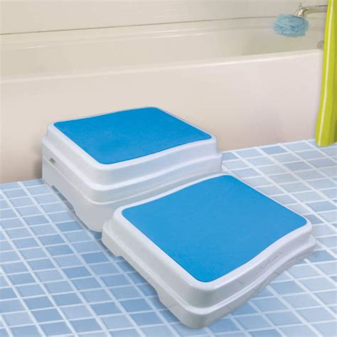bathtub step stool elderly bath step colonialmedical com