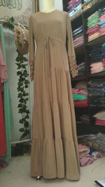 Gamis Hayya gamis modern maxi canda baju muslim grosir