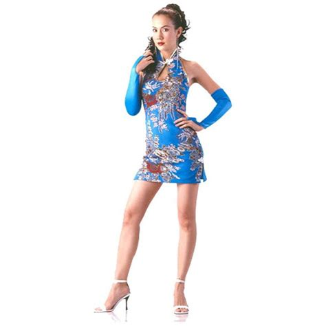 Dress Asia turquoise cheongsam asian dresses