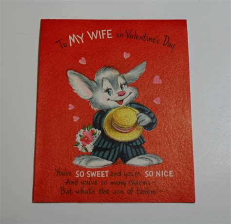 hallmark valentines day vintage hallmark valentines day card for by