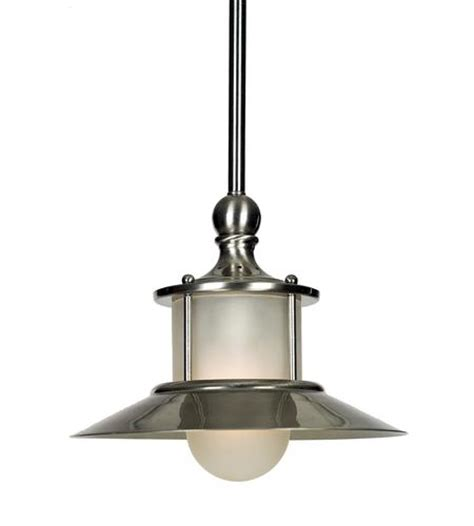 Menards Pendant Lights Patriot Lighting 174 8 Quot Brushed Nickel 1 Light Mini Pendant At Menards 174