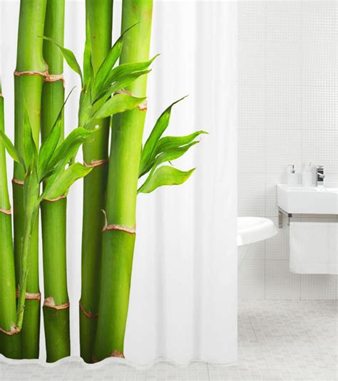 shower curtain bamboo    cm