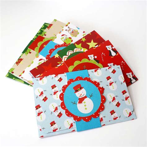 Gift Cards For Children - kids christmas holiday gift card or money holders